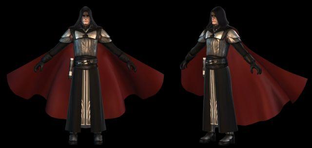Starkiller: Concept Sith Robes