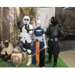 Asajj, Scout Trooper, Gunner, BB-8