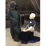 Asajj Ventress and Darth Sidious