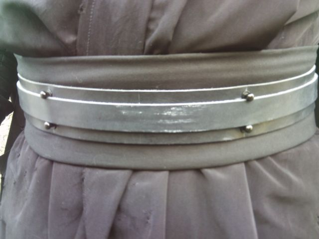 Belt close up