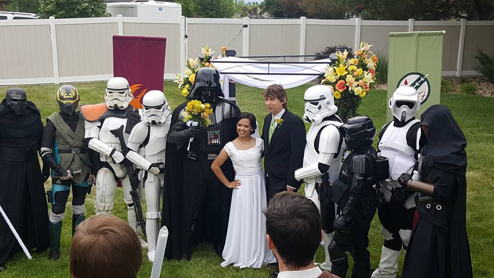 BH-69777 and BH-77769's wedding