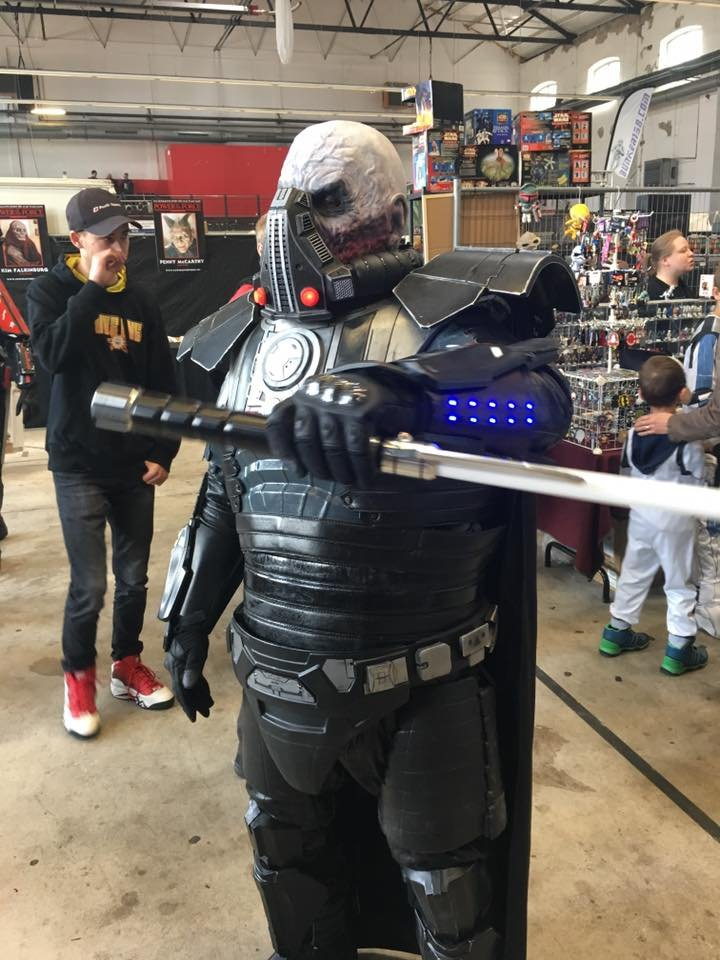 "The Dark Over Lord "" Darth Malgus"" @ Power of the Force Con 2019!"
