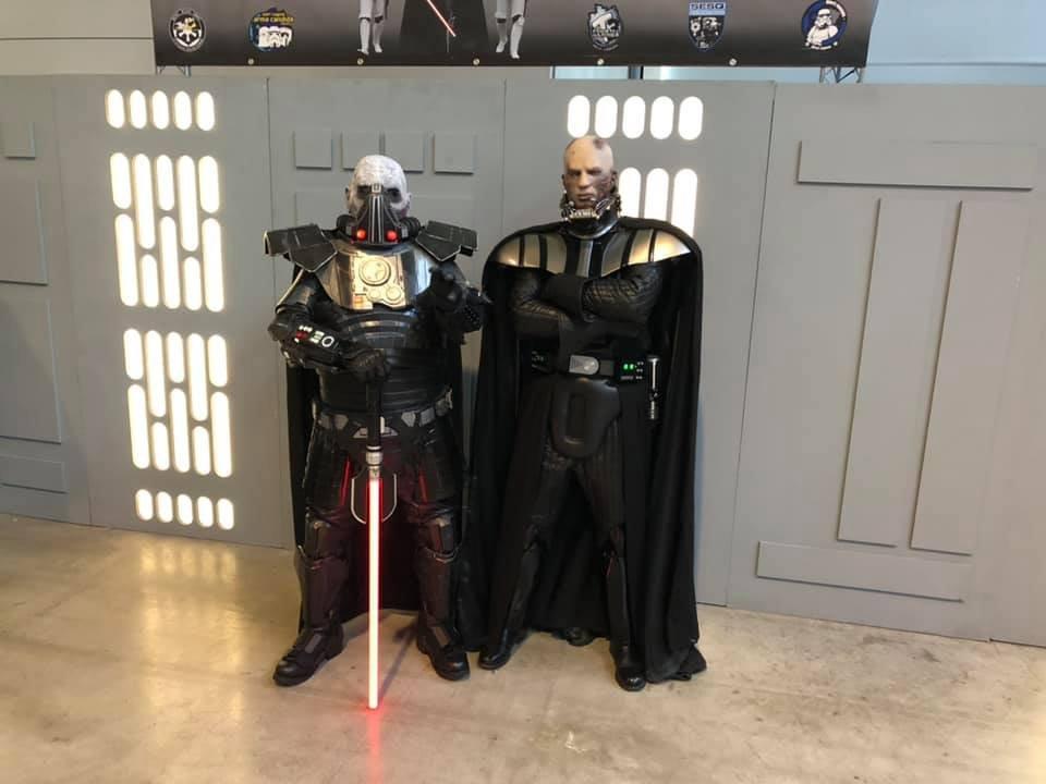 Darth Vader (Anakin EP III Series) & Darth Malgus @ Comic Con Stuttgart 2019, Stuttgart Germany