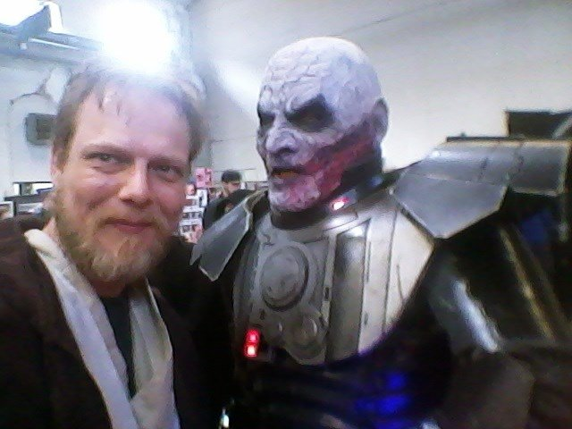 Darth Malgus with Obi Wan Kenobi, 11.05.19 Obershausen Germany