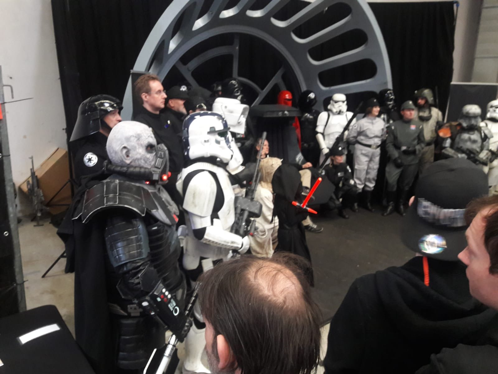 Power Of the Force Con, German Garrison Group Photo, (11.05.19) Obershausen Germany
