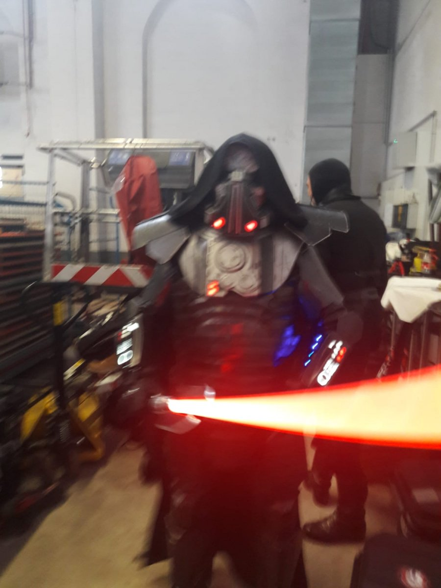 Darth Malgus Backstage @ Power of the Force Con 2019, Obershausen Germany
